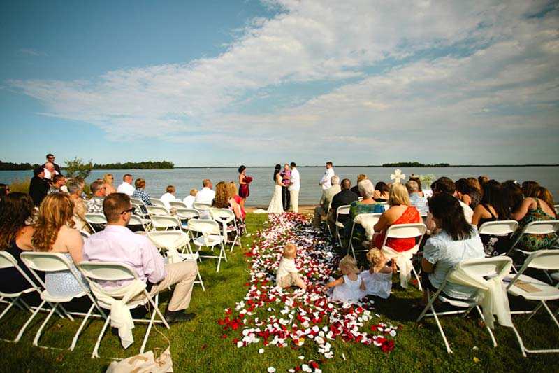 Minnesota Wedding Ceremony Locations Breezy Point Resort
