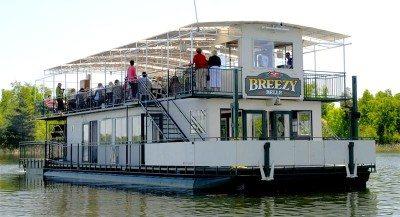 Breezy Belle Paddle Wheel Boat