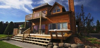 cabin at breezy point resort
