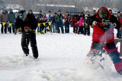 ice fest at breezy point resort