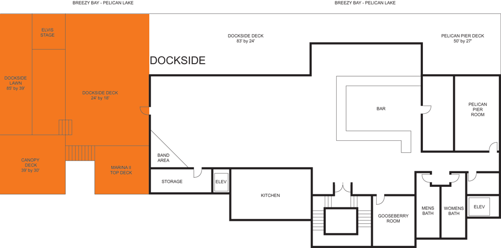 Marina Deck floorplan