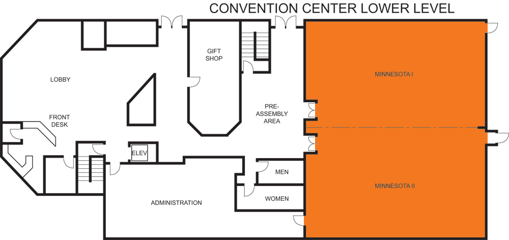 Minnesota Room floorplan