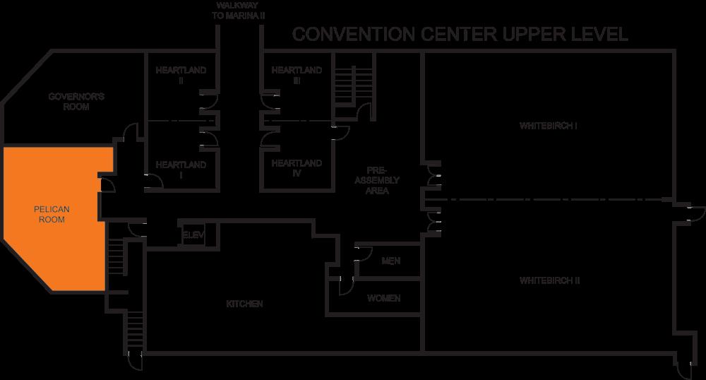 Pelican Room floorplan