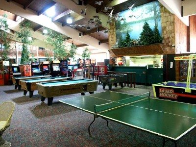 Breezy Point Resort game room