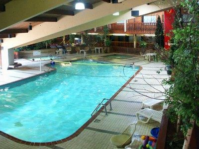 the indoor pool in the rec center