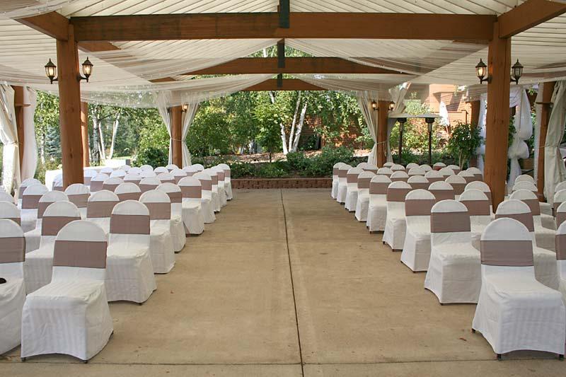 Pavilion wedding