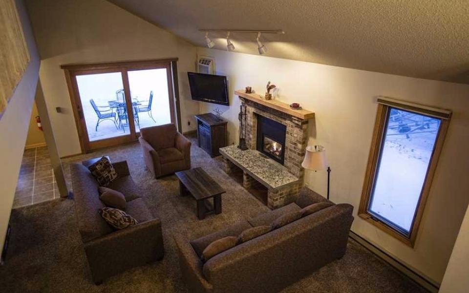 Unit 416 Living Room
